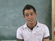 He seems to have a great life that's a lot of fun gay twink masterbatio at Teach Twinks