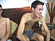With Trevor not ever experiencing oral before, I was very eager to see how he would react first time gay sex with bi