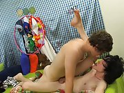 Tyler Bolt showed up pretty quickly with a lollipop in tow and a very horny attitude gay twinks group seks