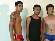 3 of the hottest Thai twinks in the world, including the famous Mr gay asian oriental