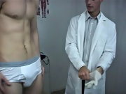 The first thought that came to mind was if Derek told him what we had done during my exam guys first anal cock