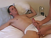 It didn't take him covet to be fully erect in my hands and I know to tug on a big heavy cock  the one that Jacob has gay asian twink sex