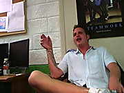 they ask him a series of questions as he sat on the floor blindfolded not knowing what the consequences would be for a wrong answer gay and bi male gr